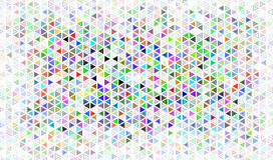 Fondo del mosaico del triángulo Fotografía de archivo