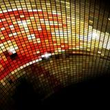 Fondo del mosaico o tarjeta de visita. Fotos de archivo libres de regalías