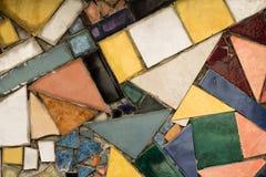 Fondo del mosaico Puzzle variopinto di arte Fotografia Stock