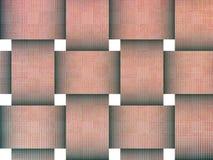 Fondo del mosaico que teje Foto de archivo libre de regalías