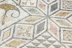 Fondo del mosaico romano antiguo Sevilla Fotografía de archivo