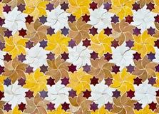 Fondo del mosaico simbólico Imagen de archivo