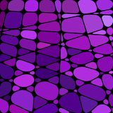 Fondo del mosaico del vetro macchiato di vettore Fotografia Stock Libera da Diritti