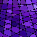Fondo del mosaico del vetro macchiato di vettore Immagine Stock