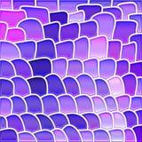 Fondo del mosaico del vetro macchiato di vettore Fotografia Stock