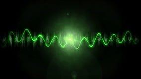 Fondo del movimiento con las ondas audios libre illustration