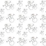 Fondo del muñeco de nieve Imagenes de archivo