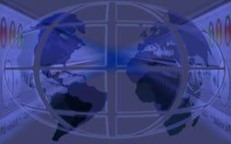 Fondo del mundo ilustración del vector