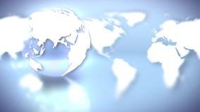 Fondo del mundo y del globo de la tierra