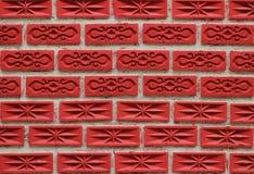 Fondo del muro di mattoni Fotografia Stock Libera da Diritti
