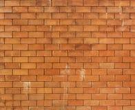 Fondo del muro di mattoni di Brown Immagine Stock Libera da Diritti