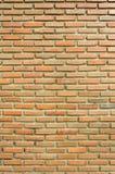Fondo del muro di mattoni marrone Fotografia Stock