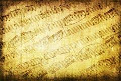 Fondo del musical de Grunge Fotografía de archivo libre de regalías
