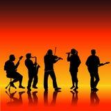 Fondo del Musical de Grunge Imagenes de archivo