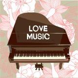 Fondo del musical del vector Fotos de archivo libres de regalías