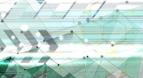 Fondo del negocio de la nueva tecnología Imagen de archivo libre de regalías