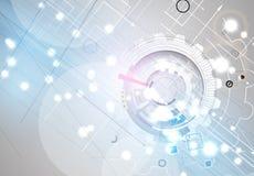 Fondo del negocio de la nueva tecnología Imágenes de archivo libres de regalías