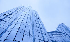 Fondo del negocio de los edificios de oficinas imagenes de archivo