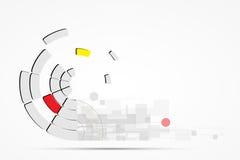 Fondo del negocio del concepto de la nueva tecnología del ordenador del infinito Libre Illustration