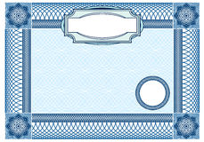 Fondo del negocio, elemento del ornamental del guilloquis  Imagen de archivo