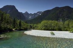 Fondo del noroeste pacífico de Washington State Hiking Climbing Landscape Waterscape Fotos de archivo