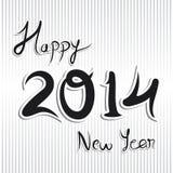Fondo del nuovo anno Fotografie Stock