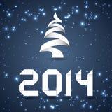 Fondo del nuovo anno Immagini Stock Libere da Diritti