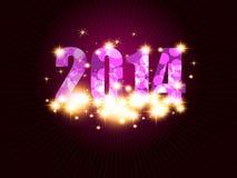 Fondo del nuovo anno Fotografia Stock