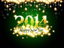 Fondo del nuovo anno Immagine Stock Libera da Diritti