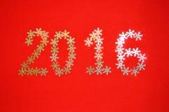 Fondo 2016 del nuovo anno Fotografia Stock