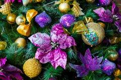 Fondo del nuovo anno e di Natale Immagini Stock