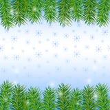 Fondo del nuovo anno e di Natale Immagini Stock Libere da Diritti