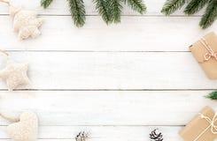 Fondo del nuovo anno e di Natale fotografia stock