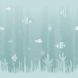 Fondo del océano stock de ilustración