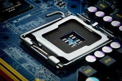 Fondo del ordenador de placa de circuito Imágenes de archivo libres de regalías