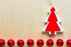 Fondo del ornamental de la Navidad Fotos de archivo