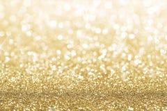 Fondo del oro Imagen de archivo libre de regalías