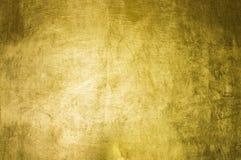 Fondo del oro Fotografía de archivo