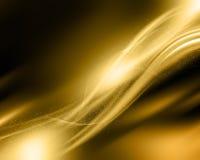 Fondo del oro de la chispa Foto de archivo libre de regalías