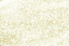 Fondo del oro de la chispa del brillo Fotografía de archivo