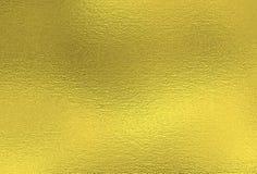Fondo del oro Textura decorativa de la hoja de metal fotos de archivo libres de regalías