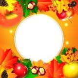 Fondo del otoño fotografía de archivo libre de regalías