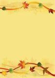 Fondo del otoño. Foto de archivo libre de regalías