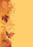 Fondo del otoño. Imagen de archivo libre de regalías
