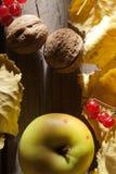 Fondo del otoño. Alimento. Imágenes de archivo libres de regalías