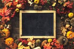 Fondo del otoño de la acción de gracias Imagen de archivo libre de regalías