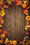 Fondo del otoño de la acción de gracias Imágenes de archivo libres de regalías