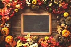 Fondo del otoño de la acción de gracias Imagen de archivo