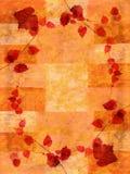 Fondo del otoño del Grunge Imagen de archivo libre de regalías