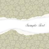 Fondo del paño de vector, rosas Imagen de archivo libre de regalías